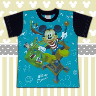 Тениска Мики Маус морско синьо