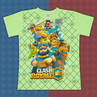 Тениска Клаш Роял-резеда