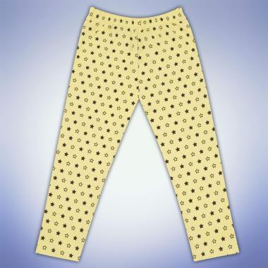 Клин под коляното на звезди жълт