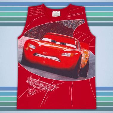 Тениска без ръкав Маккуин в червено