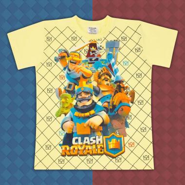 Тениска Клаш Роял жълто
