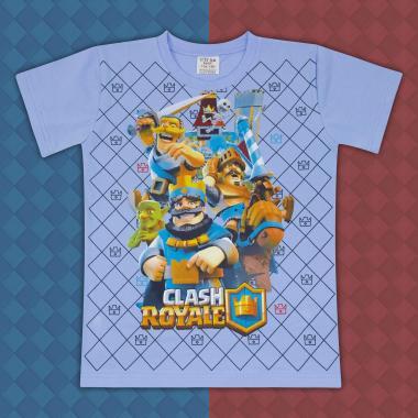Тениска Клаш Роял синьо
