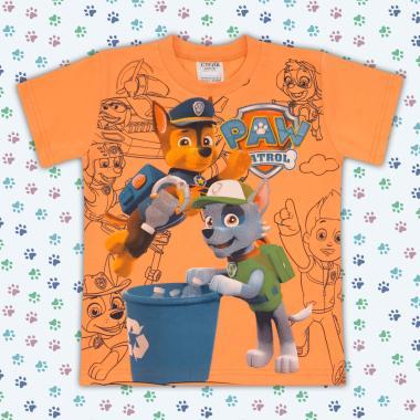 Тениска Пес Патрул в оранжево