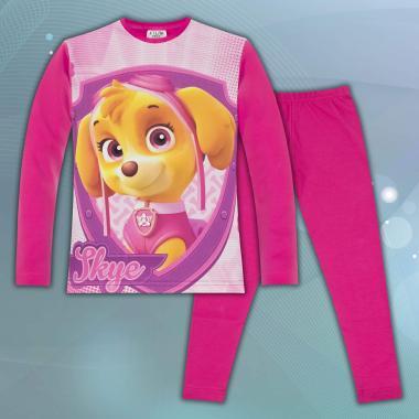 комплект блуза с клин Скай от Пес патрул в циклама