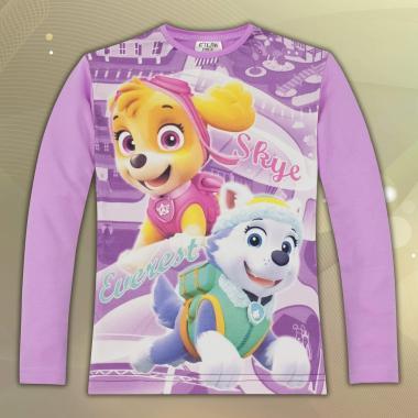 Блуза Скай и Еверест от Пес патрул в светло лилаво