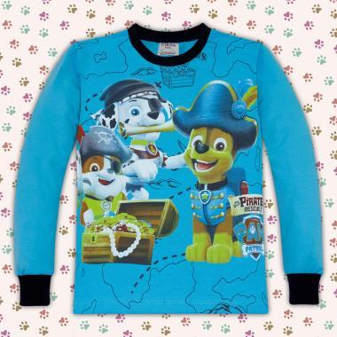 Блуза Пес Патрул в наситено синьо