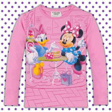 Блуза Мини и Дейзи в розово