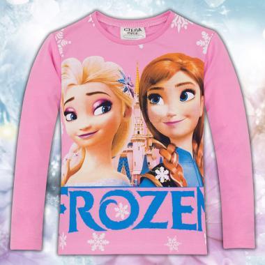 Блуза Леденото кралство в розово