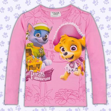 Блуза Скай и Еверест от Пес патрул в розово