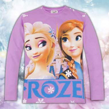 Блуза Леденото кралство в лилаво