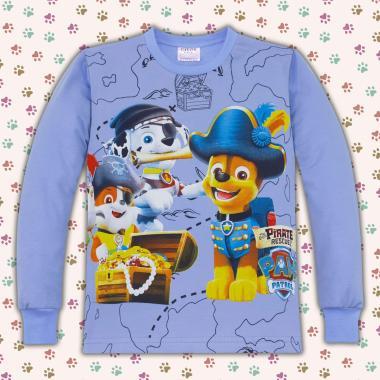 Блуза Пес Патрул в синьо