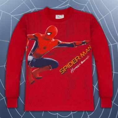 Блуза Спайдърмен в червено