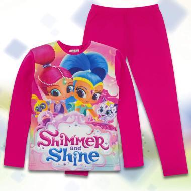 комплект блуза с клин Искрица и Сияйница в циклама