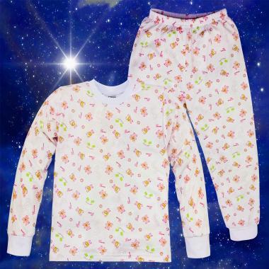 Пижама с Сладки мечета в бяло