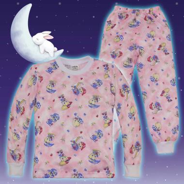 Пижама в розово игривото пате