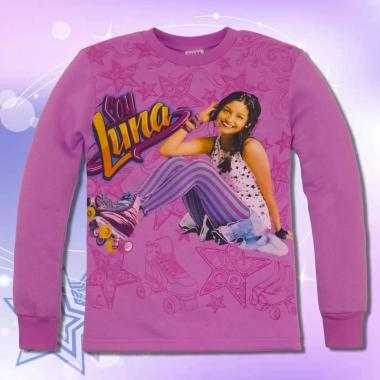 Блуза триконечна вата Soy Luna в лилаво