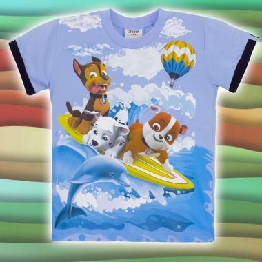 Тениска Пес Патрул в синьо