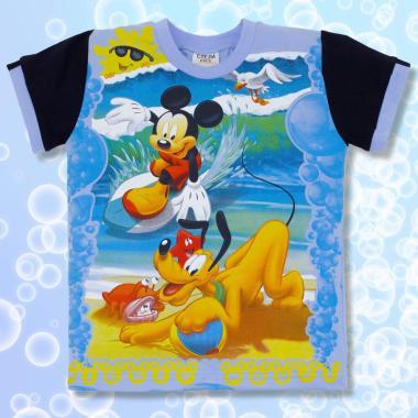 Тениска Мики Маус в синьо
