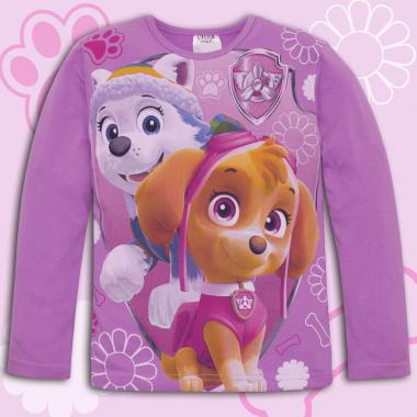 Блуза Скай и Еверест от Пес патрул в лилаво