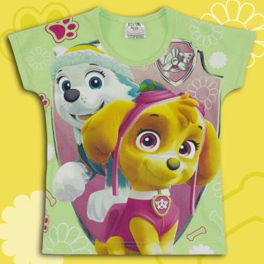 Блуза с къс ръкав Скай Пес Патрул в резеда