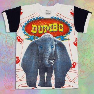 Тениска Дъмбо в екрю