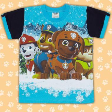 Тениска Пес Патрул в синьо 2
