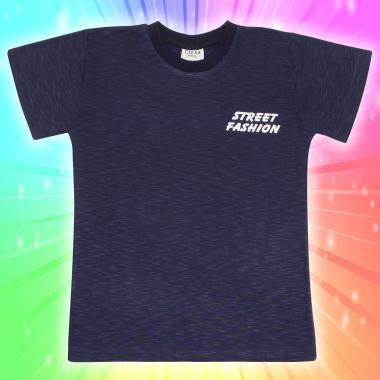 Тениска в тъмно сиво Street Fashion