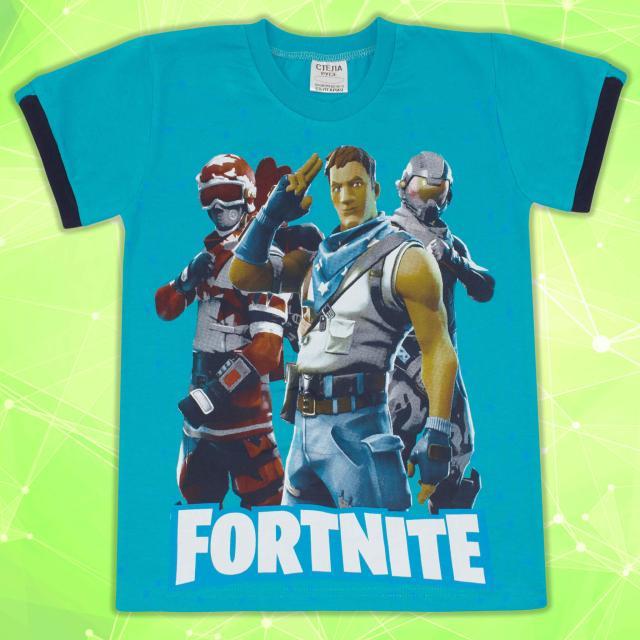 Тениска Fortnite морско синьо