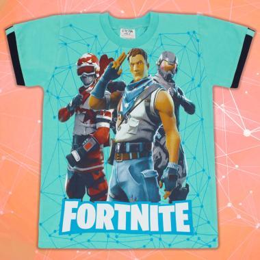 Тениска Fortnite мента