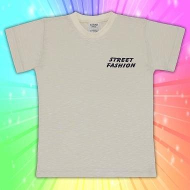 Тениска в екрю Street Fashion
