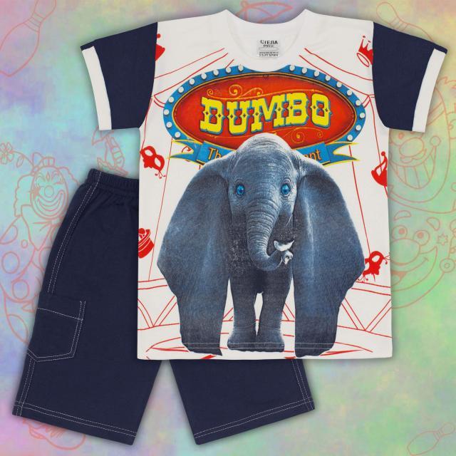 Комбинация тениска и бермуди слон