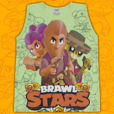 Тениска без ръкав Brawl Stars резеда