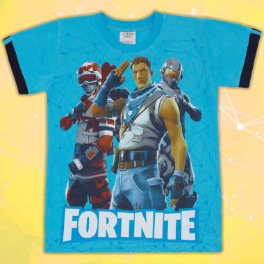 Тениска Fortnite синьо