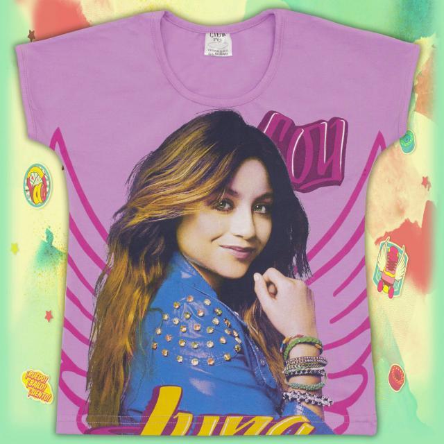 Блуза с къс ръкав Сой Луна в лилаво