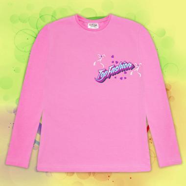 Блуза Top Fashion в розово