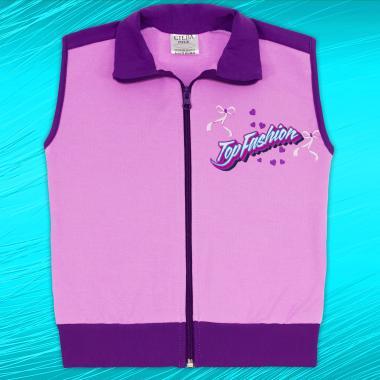 Елек Top Fashion в лилаво