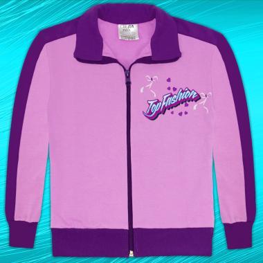 Суичър Top Fashion в лилаво