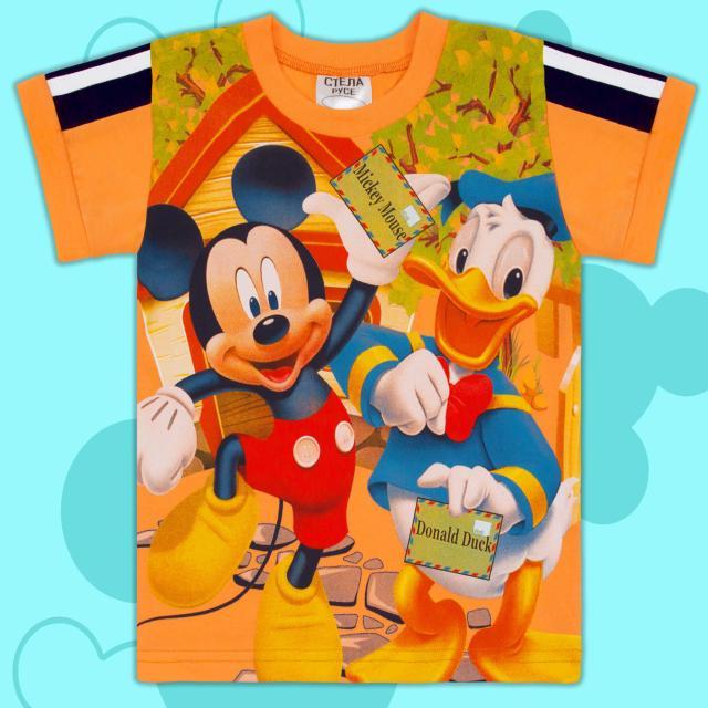Тениска Сладкото мишле оранжево