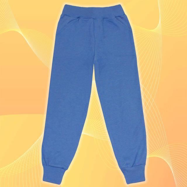 Долнище тънко в синьо