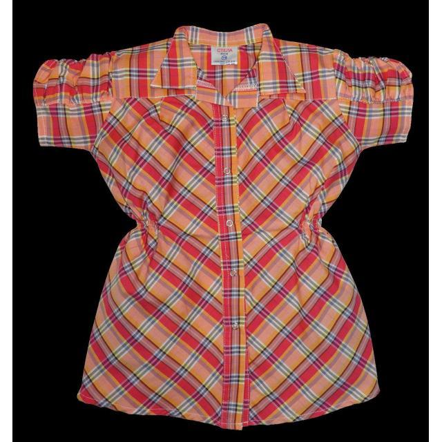Риза каре с къс набран ръкав цвят К-51