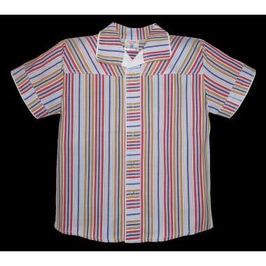 Спортно-елегантна риза райе Р-16