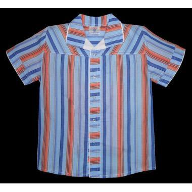 Спортно-елегантна риза райе Р-18