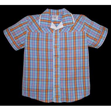 Спортно-елегантна риза каре К-1