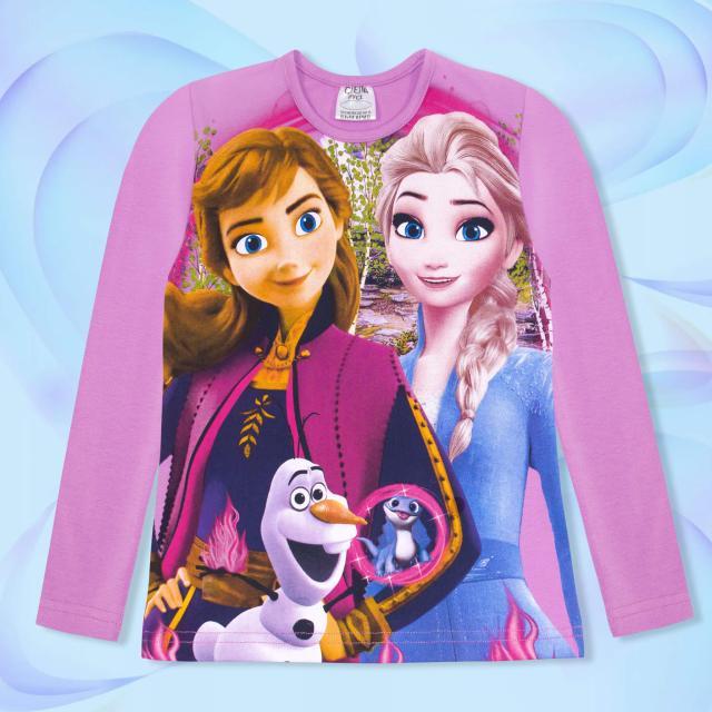 Блуза тънка с Принцеси 1 лилаво