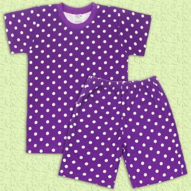 Пижама цветна в лилаво лято